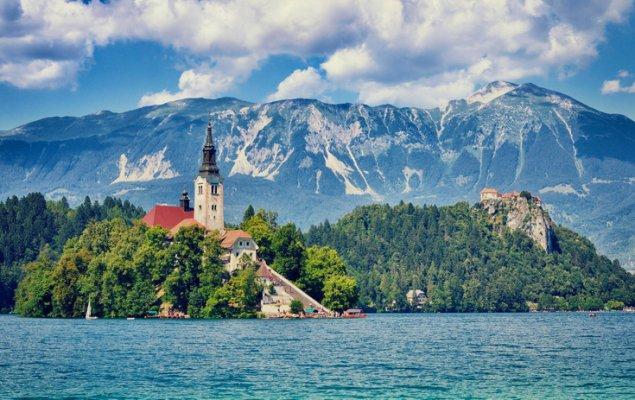 Slovenya Gezilecek Yerler